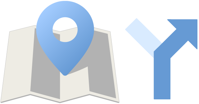 Maps Icon Illustration PNG ©2017 by Mark Hoppe